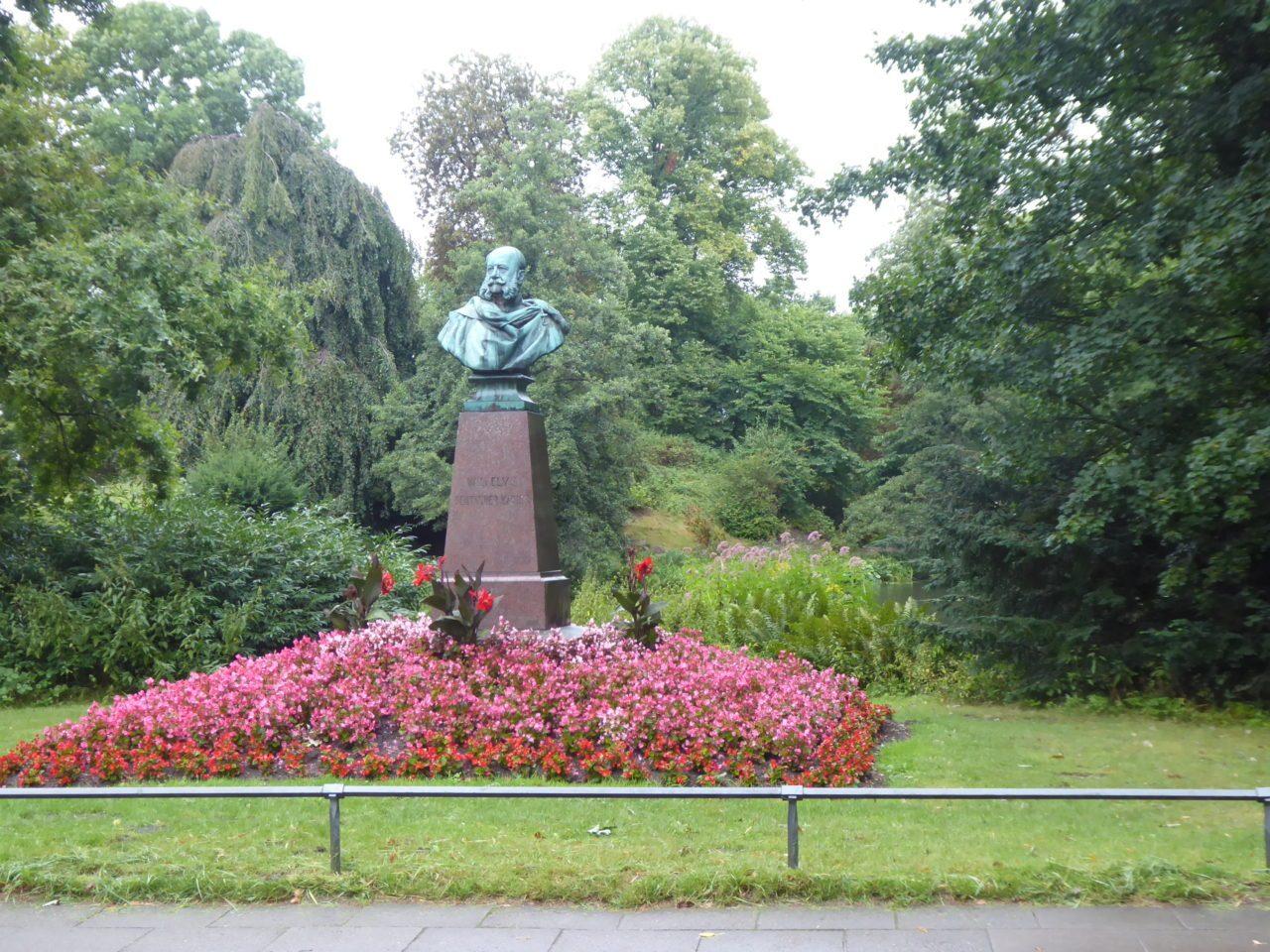 Kaiser Wilhelm I Denkmal am Kaiser-Wilhelm-Platz