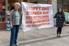 Fluchtpunkt-Mahnwache_Bergedorf05302020_12