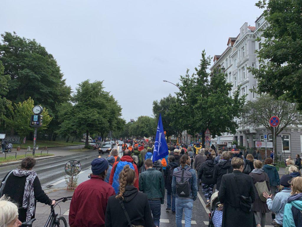 Demo in St. Pauli