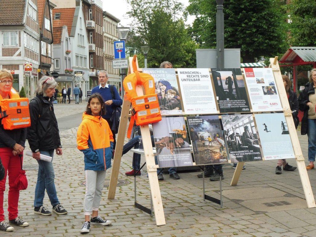 Pro Asyl Ausstellung