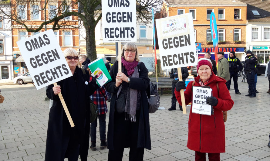 Wie kam OMAS GEGEN RECHTS nach Bergedorf?