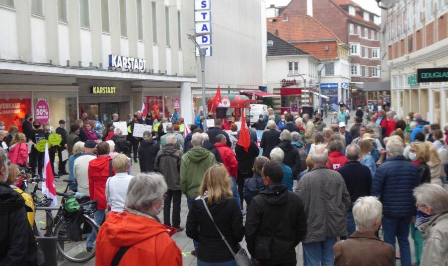 Protest gegen die Karstadt-Schließung!