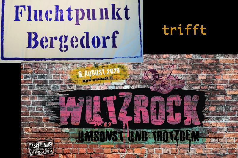 Fluchtpunkt trifft Wutzrock