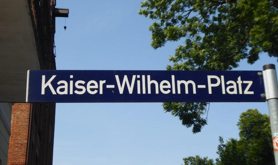 Der Kaiser-Wilhelm Platz im Zentrum Bergedorfs – kritisch hinterfragt