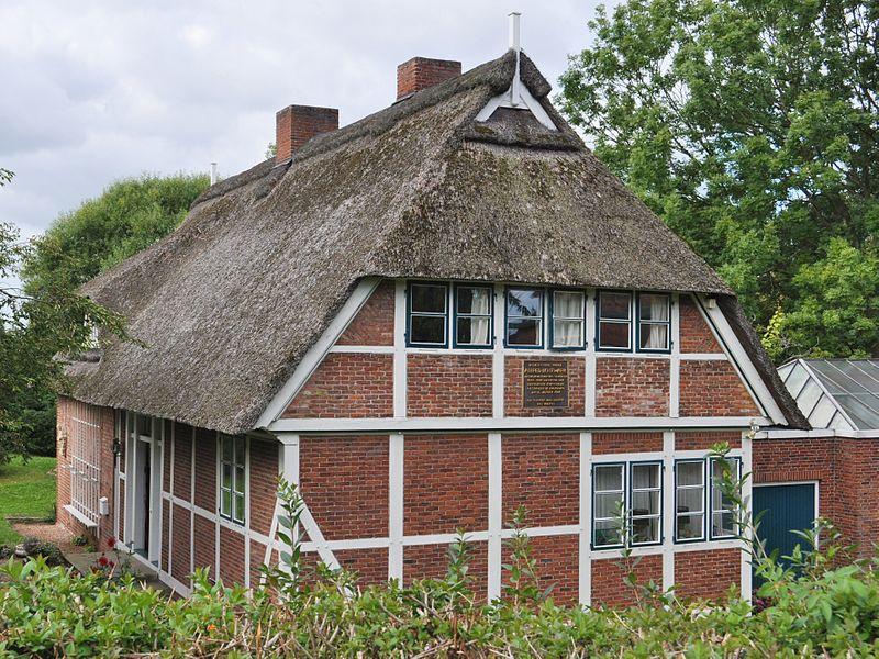 Alfred Lichtwarks Geburtshaus in Reitbrook