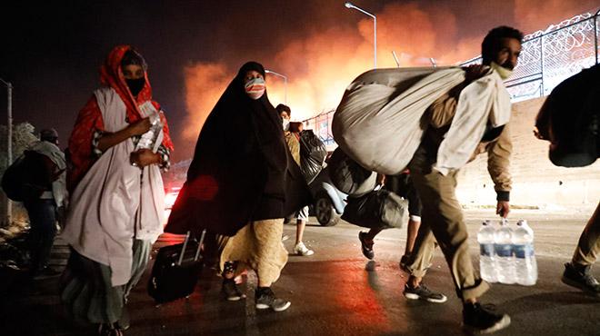 Katastrophe von Moria: Soforthilfe und Evakuierung jetzt!