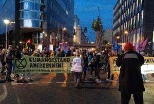 Blockade Bundestag, Kronprinzenbrücke