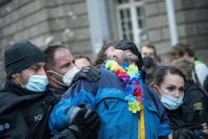 Räumung Blockade Wirtschaftsministerium