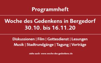 Woche des Gedenkens in Bergedorf