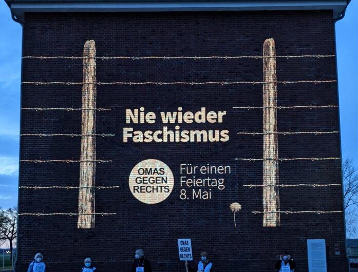 Nie wieder Faschismus, für einen Feiertag am 8. Mai