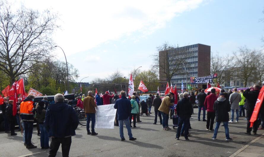 1. Mai 2021 in Bergedorf